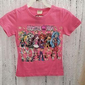 Girls T-Shirt - Pink Monster High